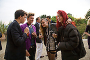 TOM GIDDINS, HENRY HOLLAND, ALICE DELLAL AND LAURA FRASER, The Artists' Playground. Reconstruction 3: Contemporary Art at Sudeley Castle, 2008 In partnership with Phillips de Pury & Company and supported by Chanel. 31 May 2008. *** Local Caption *** -DO NOT ARCHIVE-© Copyright Photograph by Dafydd Jones. 248 Clapham Rd. London SW9 0PZ. Tel 0207 820 0771. www.dafjones.com.