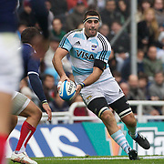 Juan Martin Fernandez Lobbe, Argentina, in action during the Argentina V France test match at Estadio Jose Amalfitani, Buenos Aires,  Argentina. 26th June 2010. Photo Tim Clayton...