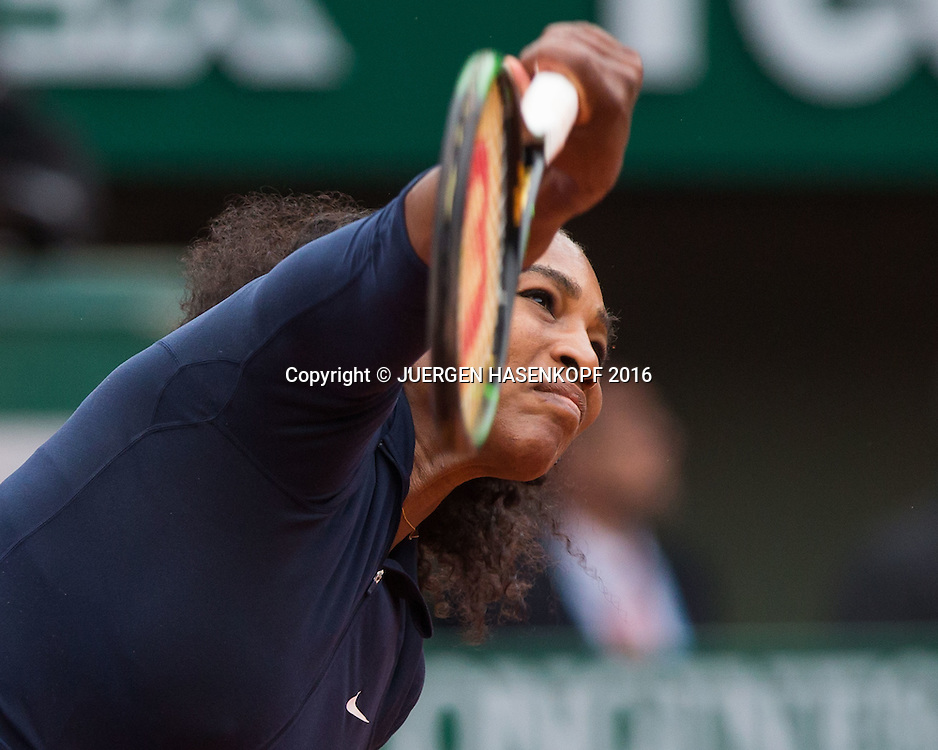 Serena Williams (USA)<br /> <br /> Tennis - French Open 2016 - Grand Slam ITF / ATP / WTA -  Roland Garros - Paris -  - France  - 1 June 2016.