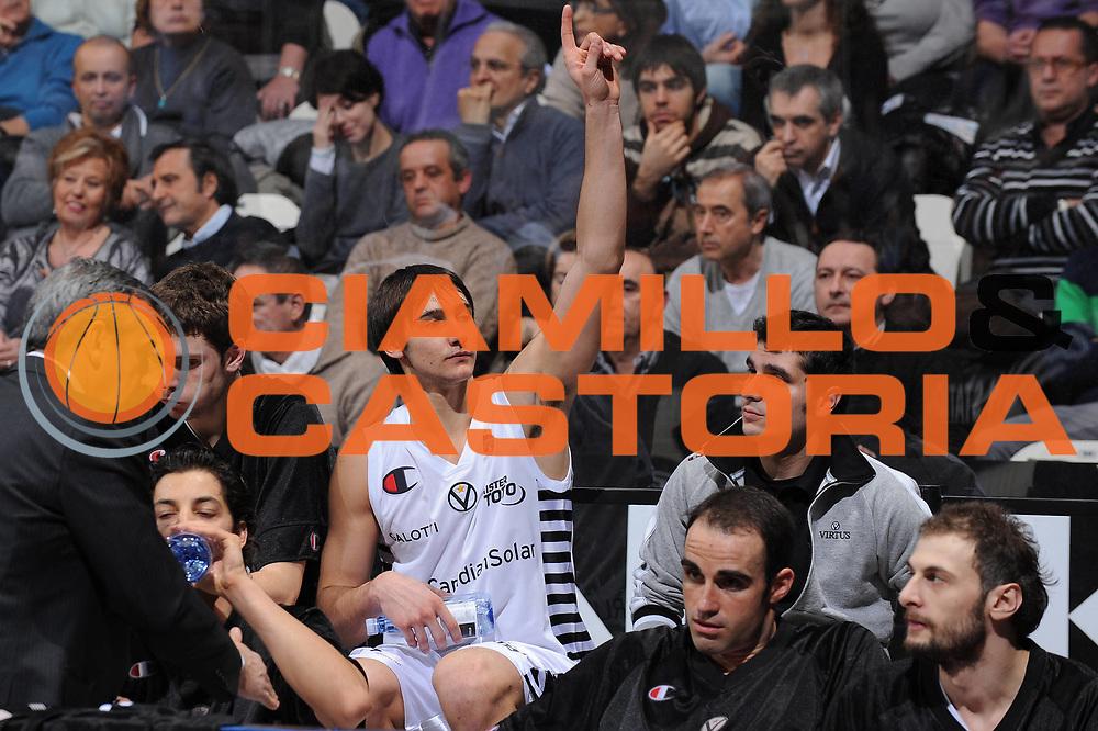 DESCRIZIONE : Bologna Lega A 2009-10 Canadian Solar Virtus Bologna Angelico Biella<br /> GIOCATORE : Riccardo Moraschini<br /> SQUADRA : Canadian Solar Virtus Bologna<br /> EVENTO : Campionato Lega A 2009-2010<br /> GARA : Canadian Solar Virtus Bologna Angelico Biella<br /> DATA : 07/02/2010<br /> CATEGORIA : esultanza<br /> SPORT : Pallacanestro<br /> AUTORE : Agenzia Ciamillo-Castoria/M.Marchi<br /> Galleria : Lega Basket A 2009-2010 <br /> Fotonotizia : Bologna Campionato Italiano Lega A 2009-2010 Canadian Solar Virtus Bologna Angelico Biella<br /> Predefinita :