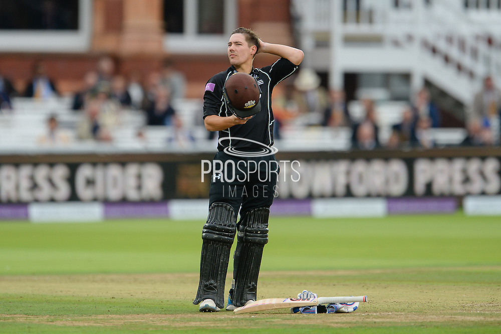 Rory Burns of Surrey during the Royal London One Day Cup match between Warwickshire County Cricket Club and Surrey County Cricket Club at Lord's Cricket Ground, St John's Wood, United Kingdom on 17 September 2016. Photo by David Vokes.