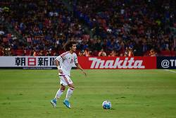June 13, 2017 - Bangkok, Bangkok, Thailand - OMAR ABDULRAHMAN of the UAE in action against during the FIFA World Cup 2018 qualifying soccer match between Thailand and the United Arab Emirates at the Rajamangala stadium in Bangkok, Thailand, 13 June 2017. (Credit Image: © Anusak Laowilas/NurPhoto via ZUMA Press)