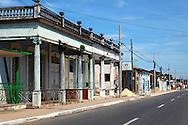 Street in Candelaria, Artemisa, Cuba.