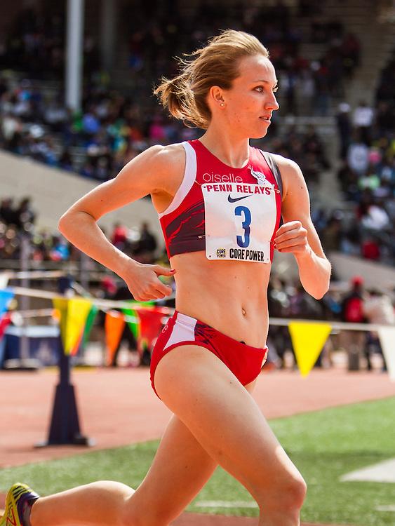 Penn Relays, womens Olympic Development Mile, Oiselle,  Kerri Gallagher, NYAC