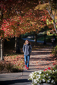 101717 _ Fall Color Campus Beauty Scenic