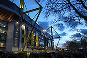 The Signal Iduna Park stadium prior the Champions League round of 16, leg 2 of 2 match between Borussia Dortmund and Tottenham Hotspur at Signal Iduna Park, Dortmund, Germany on 5 March 2019.