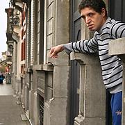A resident of Brussels' Molenbeek neighbourhood, a hotbed of Islamic fundamentalism.