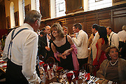 MARK LENNOX-BOYD AND PETRONELLA WYATT, Fund for Refugees in Slovenia Gala Dinner, The Great Hall. Royal Hospital. Chelsea. 12 June 2006. ONE TIME USE ONLY - DO NOT ARCHIVE  © Copyright Photograph by Dafydd Jones 66 Stockwell Park Rd. London SW9 0DA Tel 020 7733 0108 www.dafjones.com