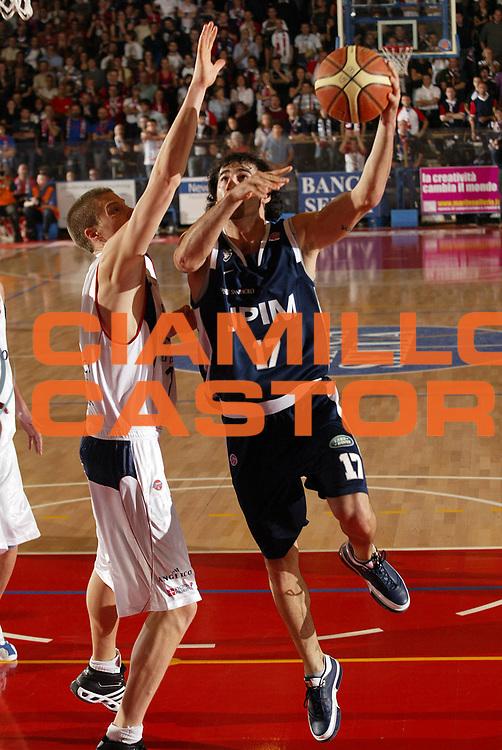 DESCRIZIONE : Biella Lega A1 2007-08 Angelico Biella Upim Fortitudo Bologna <br /> GIOCATORE : Dante Calabria<br /> SQUADRA : Upim Fortitudo Bologna<br /> EVENTO : Campionato Lega A1 2007-2008 <br /> GARA : Angelico Biella Upim Fortitudo Bologna  <br /> DATA : 11/11/2007 <br /> CATEGORIA : Tiro<br /> SPORT : Pallacanestro <br /> AUTORE : Agenzia Ciamillo-Castoria/E.Pozzo