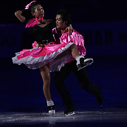 TOKYO - MARCH 25: Nozomi Watanabe and Akiyuki Kido of Japan performs in an exhibition program during at the World Figure Skating Championships at the Tokyo Gymnasium on March 25, 2007 in Tokyo, Japan. (Photo by Andrew T. Malana)..