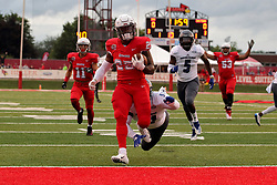 NORMAL, IL - September 08: James Robinson during 107th Mid-America Classic college football game between the ISU (Illinois State University) Redbirds and the Eastern Illinois Panthers on September 08 2018 at Hancock Stadium in Normal, IL. (Photo by Alan Look)