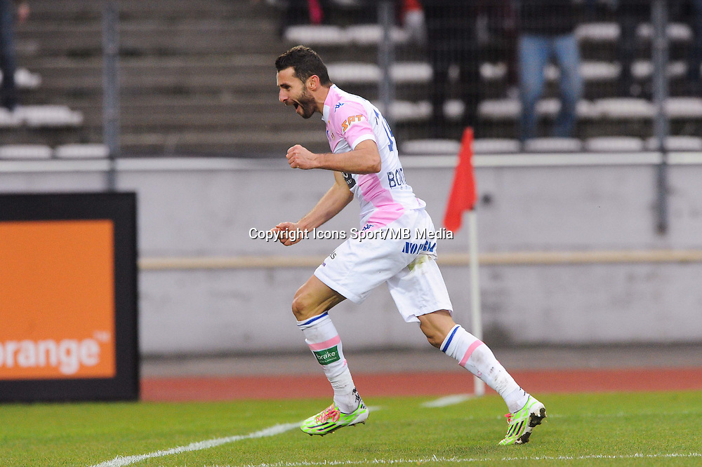 Joie Cedric BARBOSA - 07.12.2014 - Evian Thonon / Lyon - 17eme journee de Ligue 1 -<br />