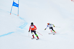 Downhill, JENSEN Patrick Guide: OFFORD Zali, B2, AUS at the WPAS_2019 Alpine Skiing World Championships, Kranjska Gora, Slovenia