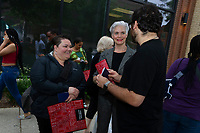 """The Hyde Park Chamber of Commerce held one of it's many outdoor dinner crawls Tuesday evening, June 19th, 2018. Local restaurants supplied samplings from their menu for participants to try as they traveled to over 20 different restaurants along 53rd street. This event was sponsored by the Hyde Park Chamber of Commerce.<br /> <br /> Please 'Like' """"Spencer Bibbs Photography"""" on Facebook.<br /> <br /> Please leave a review for Spencer Bibbs Photography on Yelp.<br /> <br /> Please check me out on Twitter under Spencer Bibbs Photography.<br /> <br /> All rights to this photo are owned by Spencer Bibbs of Spencer Bibbs Photography and may only be used in any way shape or form, whole or in part with written permission by the owner of the photo, Spencer Bibbs.<br /> <br /> For all of your photography needs, please contact Spencer Bibbs at 773-895-4744. I can also be reached in the following ways:<br /> <br /> Website – www.spbdigitalconcepts.photoshelter.com<br /> <br /> Text - Text """"Spencer Bibbs"""" to 72727<br /> <br /> Email – spencerbibbsphotography@yahoo.com<br /> <br /> #SpencerBibbsPhotography #HydePark #Community #Neighborhood"""