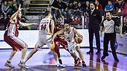 DESCRIZIONE : Campionato 2014/15 Virtus Acea Roma - Giorgio Tesi Group Pistoia<br /> GIOCATORE : Rok Stipcevic Maxime De Zeeuw<br /> CATEGORIA : Palleggio Penetrazione Controcampo Blocco<br /> SQUADRA : Virtus Acea Roma<br /> EVENTO : LegaBasket Serie A Beko 2014/2015<br /> GARA : Dinamo Banco di Sardegna Sassari - Giorgio Tesi Group Pistoia<br /> DATA : 22/03/2015<br /> SPORT : Pallacanestro <br /> AUTORE : Agenzia Ciamillo-Castoria/GiulioCiamillo<br /> Predefinita :