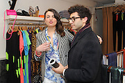 ANNALISE MICHELSEN; SAUL ASHBY, The Space, Pop-up shop, Austique, 330 Kings Road, London, 13 February 2013.