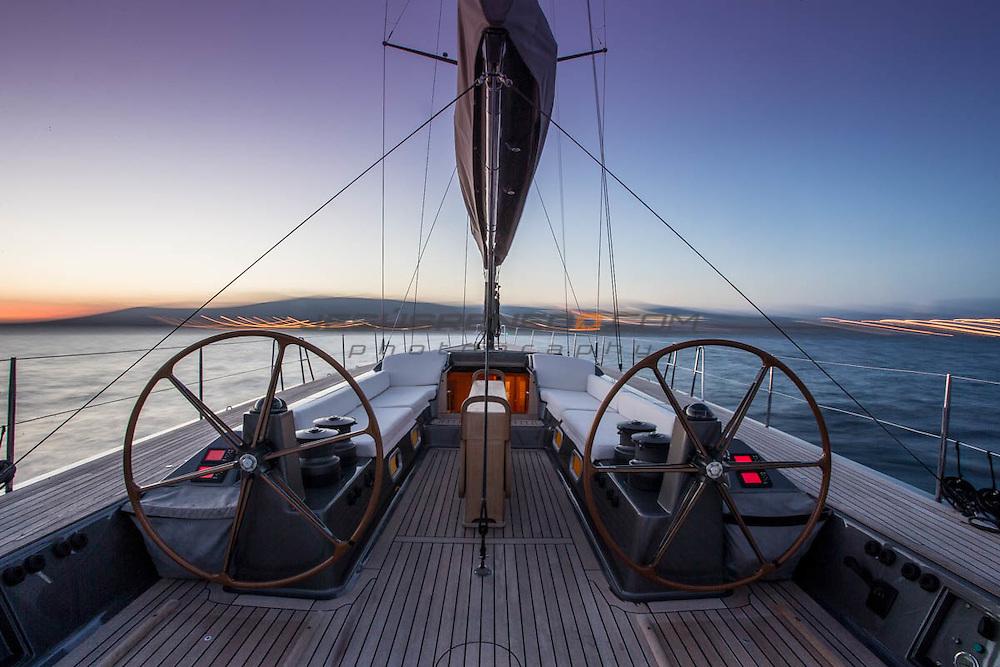 "Wally YAcht ""J One""  Palma de Mallorca, Spain."