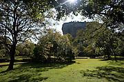 Gardens at Sigiriya.