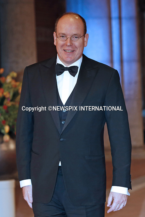 "PRINCE ALBERT OF MONACO.attend the gala farewell dinner for Queen Beatrix at the Rijksmuseum in Amsterdam, The Netherlands_April 29, 2013..Crown Prince Willem-Alexander and Crown Princess Maxima will be proclaimed King and Queen  of The Netherlands on the abdication of Queen Beatrix on 30th April 2013..Mandatory Credit Photos: ©NEWSPIX INTERNATIONAL..**ALL FEES PAYABLE TO: ""NEWSPIX INTERNATIONAL""**..PHOTO CREDIT MANDATORY!!: NEWSPIX INTERNATIONAL(Failure to credit will incur a surcharge of 100% of reproduction fees)..IMMEDIATE CONFIRMATION OF USAGE REQUIRED:.Newspix International, 31 Chinnery Hill, Bishop's Stortford, ENGLAND CM23 3PS.Tel:+441279 324672  ; Fax: +441279656877.Mobile:  0777568 1153.e-mail: info@newspixinternational.co.uk"