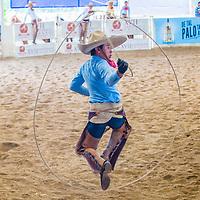 GUADALAJARA , MEXICO - SEP 01 : Charro participates at the 23rd International Mariachi & Charros festival in Guadalajara Mexico on September 01 , 2016.