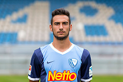 07.07.2015, Rewirpower Stadion, Bochum, GER, 2. FBL, VfL Bochum, Fototermin, im Bild Onur Bulut (Bochum) // during the official Team and Portrait Photoshoot of German 2nd Bundesliga Club VfL Bochum at the Rewirpower Stadion in Bochum, Germany on 2015/07/07. EXPA Pictures &copy; 2015, PhotoCredit: EXPA/ Eibner-Pressefoto/ Hommes<br /> <br /> *****ATTENTION - OUT of GER*****