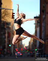 Dance As Art The New York Photography Project: Tribeca Series with dancer Jenny Bohlstrom
