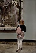 The Louvre-Examining Duccio