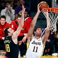 01-07 HAWKS AT LA LAKERS