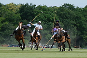 Nobility for Ability Charity Cup finals with Las Hermanitas / Los Nocheros - Sawai Padmanabh Singh Fashion show -Khadi Silk- by Charu Parashar and polo match with Royal Jaipur Polo Team (with the maharadja of Jaipur) / Chantilly Polo Club, on June 24, 2018, in Chantilly, France - Photo Christophe Bricot / ProSportsImages / DPPI