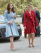 Kate Middleton With Princess Stephanie In Luxembourg