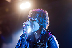 Julian Casablancas of The Strokes play the Radio 1/NME Stage..T in the Park on Saturday 9th July 2011. T in the Park 2011 music festival takes place from 7-10th July 2011 in Balado, Fife, Scotland..©Pic : Michael Schofield.