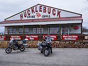 Lunch at Hucklebuck Grill in Ava, Missouri
