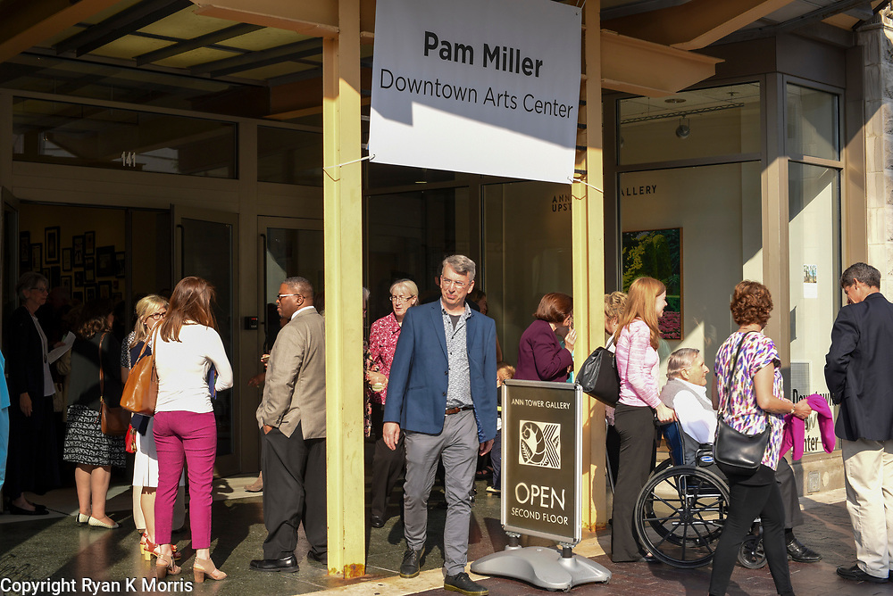 May 2, 2017 | Lexington, KY | The celebration for the dedication and naming of the Pam Miller Downtown Arts Center for former Mayor Pam Miller. All Images by Ryan K Morris.