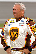 Jun 2005; Brooklyn, MI; Dale Jarrett waits to qualify for the Nextel Cup Series Batman Begins 400 at Michigan International Speedway.