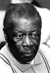 Portrait of an elderly man, Nottingham, UK 1989