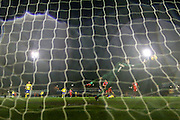 Accrington Stanley forward Shay McCartan  goal during the Sky Bet League 2 match between York City and Accrington Stanley at Bootham Crescent, York, England on 28 November 2015. Photo by Simon Davies.