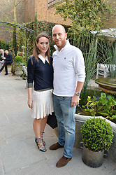 PICTURE SHOWS:-ALEX EDWARDS and CARLO CARELLO.<br /> Tuesday 14th April 2015 saw a host of London influencers and VIP faces gather together to celebrate the launch of The Ivy Chelsea Garden. Live entertainment was provided by jazz-trio The Blind Tigers, whilst guests enjoyed Moët & Chandon Champagne, alongside a series of delicious canapés created by the restaurant's Executive Chef, Sean Burbidge.<br /> The evening showcased The Ivy Chelsea Garden to two hundred VIPs and Chelsea<br /> residents, inviting guests to preview the restaurant and gardens which marry<br /> approachable sophistication and familiar luxury with an underlying feeling of glamour and theatre. The Ivy Chelsea Garden's interiors have been designed by Martin Brudnizki Design Studio, and cleverly combine vintage with luxury, resulting in a space that is both alluring and down-to-earth.