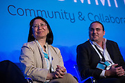 The Linux Foundation hosts its OPNFV Summit at the Hyatt Regency San Francisco Airport in Burlingame, California, on November 11, 2015. (Stan Olszewski/SOSKIphoto)
