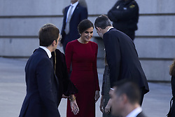 King Felipe VI of Spain and Queen Letizia of Spain attends to 40 Anniversary of Spanish Constitution at Congreso de los Diputados in Madrid, Spain, December 6, 2018. Photo by A. Perez Meca/AlterPhotos/ABACAPRESS.COM