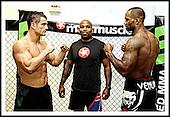 Jimi Manuwa v Tom May fitness challenge. 25-10-12