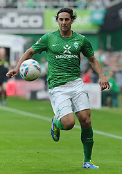 25.09.2011, Weserstadion, Bremen, GER, 1.FBL, Werder Bremen vs Hertha BSC, im Bild Claudio Pizarro (Bremen #24)..// during the match Werder Bremen vs Hertha BSC on 2011/09/25, Weserstadion, Bremen, Germany..EXPA Pictures © 2011, PhotoCredit: EXPA/ nph/  Frisch       ****** out of GER / CRO  / BEL ******