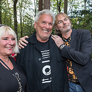 NLD/Hilversum/20181008 - Boekpresentatie autobiografie Peter Koelewijn, Ad Bouman en partner en Tjerk Lammers