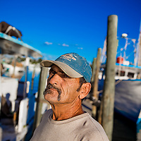 10/28/14 5:47:44 PM -- Cortez, FL, U.S.A  -- John Yates, a former commercial fisherman who was convicted under a major federal document-shredding statute for throwing undersized grouper overboard.  --    Photo by Chip J Litherland, Freelance