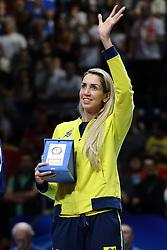 THAISA MENEZES BEST BLOCKER<br /> AWARDING CEREMONY<br /> VOLLEYBALL WOMEN'S WORLD CHAMPIONSHIP 2014<br /> MILAN 12-10-2014<br /> PHOTO BY FILIPPO RUBIN