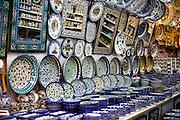 Armenian Ceramics for sale in Jerusalem, Old City, Israel
