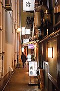Alley to Nakamura restaurant.