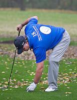 ROTTERDAM - Kralingen  PGA Golfprofessional Robert Kalkman die zich met zijn Robert Kalman Foundation inzet voor kinderen met kanker. FOTO KOEN SUYK