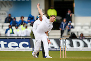 England & Nottinghamshire bowler Stuart Broad  during day 3 of the first Investec Test Series 2016 match between England and Sri Lanka at Headingly Stadium, Leeds, United Kingdom on 21 May 2016. Photo by Simon Davies.