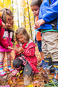 Hathaway Brown students at Squire farm on October 16, 2014.