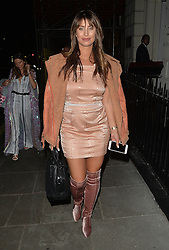 Former TOWIE star Ferne McCann leaving the sketch restaurant in London, UK. 22/08/2016<br />